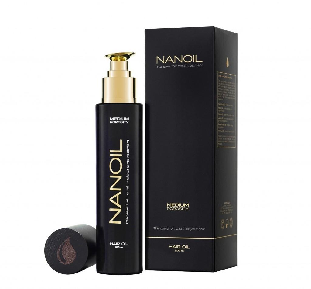 Aceite capilar Nanoil - aplicación